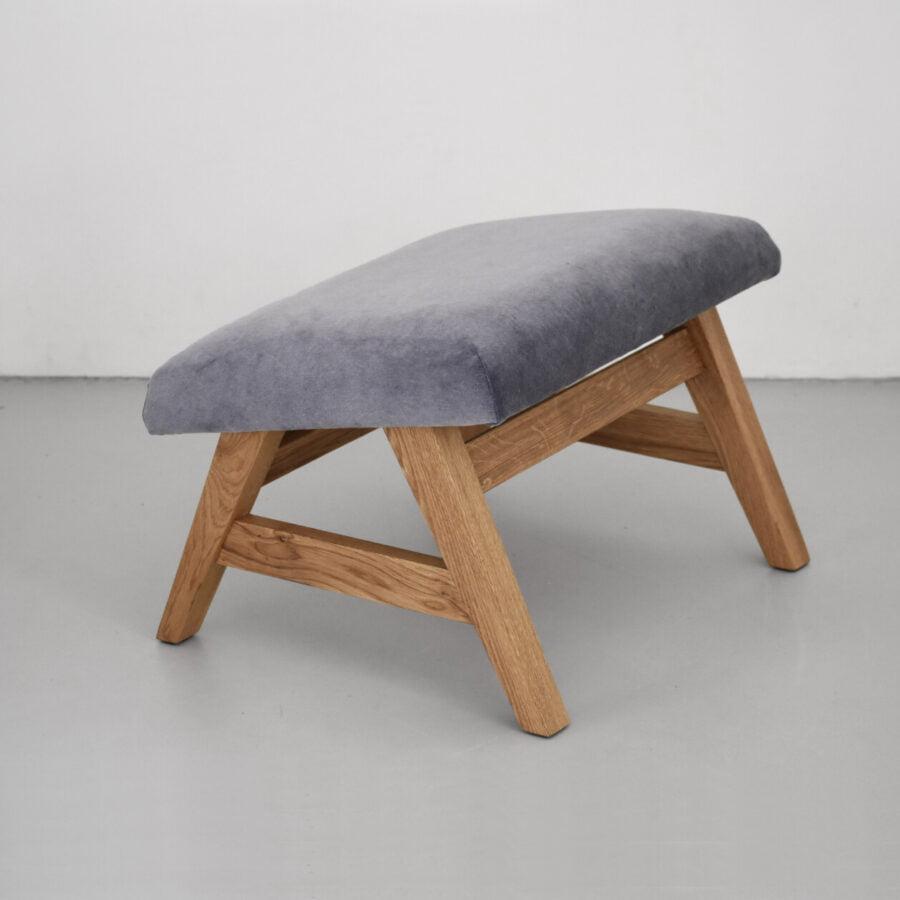 dębowy podnózek fotela MITO