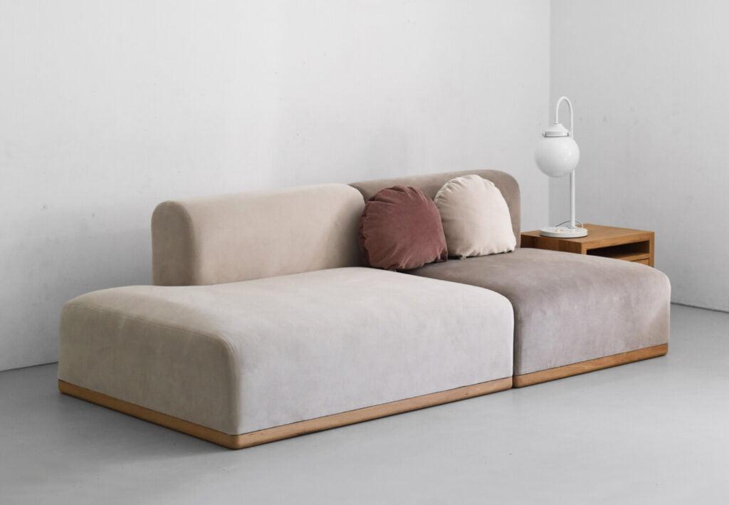 nowoczesna sofa modułowa ALIKO w stylu boho, skandynawskim i minimalistycznym